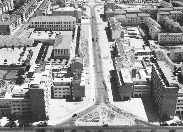 Avenida de Roma - 1950