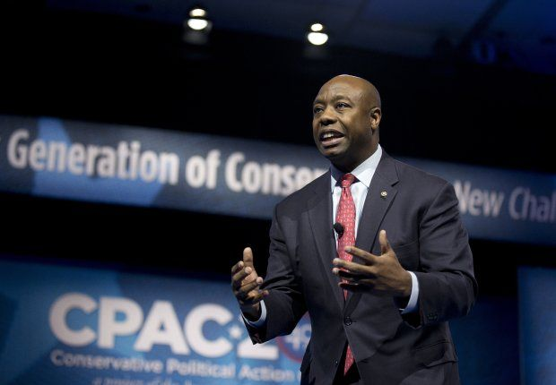 Sen. Tim Scott, R.-S.C., the only African American serving in the United States Senate, wasn't invited to the event commemorating the 50th anniversary of Martin Luther King's march on Washington, though a host of Democratic luminaries spoke on the steps of the Lincoln Memorial.