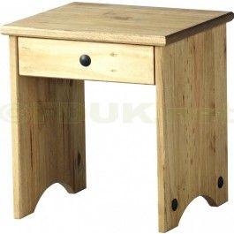 £24.99 - Seconique Corona Pine Dressing Table Stool