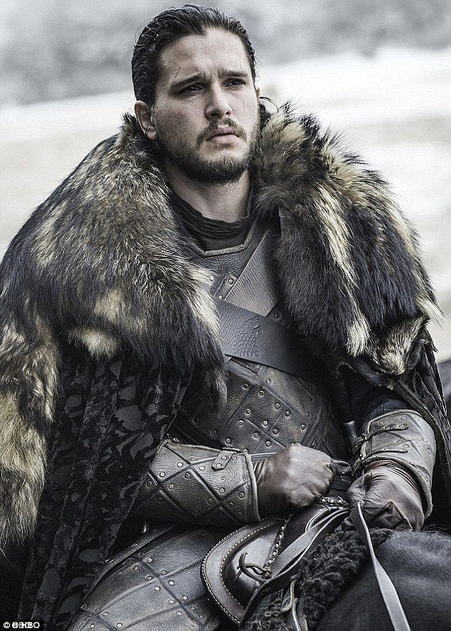 Windfall is coming: Kit Harington, who plays Jon Snow, is among the leads getting a hefty pay rise to appear on the last two series of Game Of Thrones