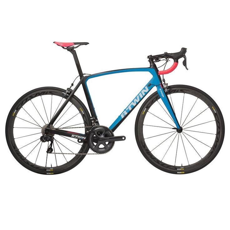 B'TWIN Ultra 740 CF Carbon Road Bike (2016).