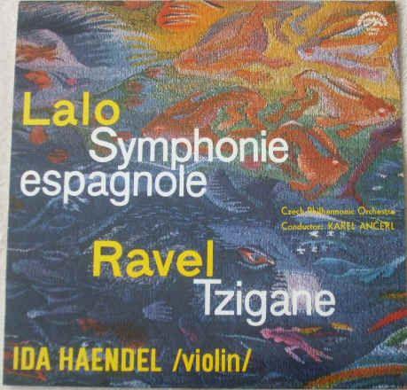 SUA ST 50615 LALO SYMPHONIE ESPAGNOLE RAVEL TZIGANE Ida Haendel Classical Vinyl LP