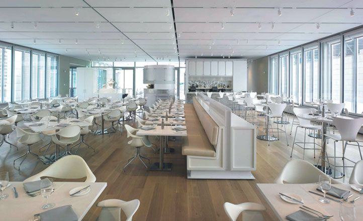 Cool Terzo Piano Restaurant At The Art Institute Of Chicagous Modern Wing Design By Renzo Interior Dirk Denison With Schools