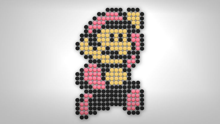 MotionRide - Super Bottlecap Bros 3 [LSDJ Game Boy Chiptune] ...with bottle cap pixel art!