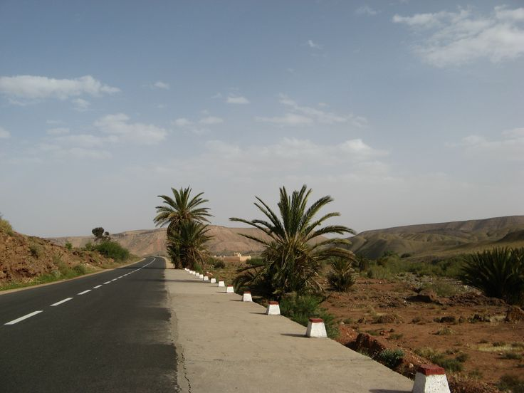 Approching the desert area