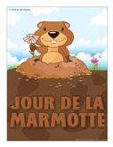 Le jour de la marmotte, activités pour enfants.