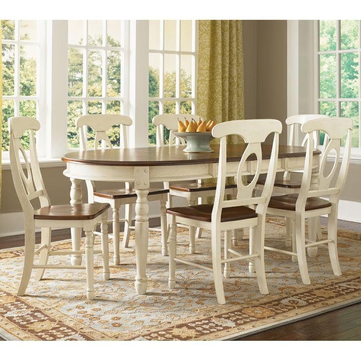 Oval Kitchen Table And Chairs: 17 Best Ideas About Oval Dining Tables On Pinterest