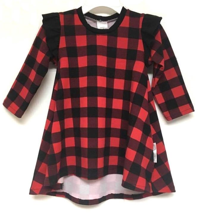 Excited to share the latest addition to my #etsy shop: Christmas Dress, Red Black Plaid, Buffalo Plaid Dress, Trendy Girls Clothes, Baby Girls Dress, Toddler Dress, Girls Clothing, Hi Low Dress, Country Christmas