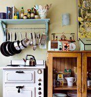 Une cuisine vintage aux influences fifties et sud-africaines - Marie Claire Maison