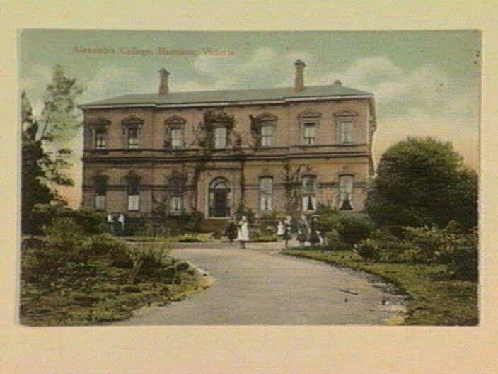 1905 Alexander Ladies College, Hamilton Victoria Australia.
