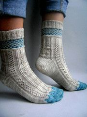 This the fourth sock from the 'When Vampires Knit Socks' club.