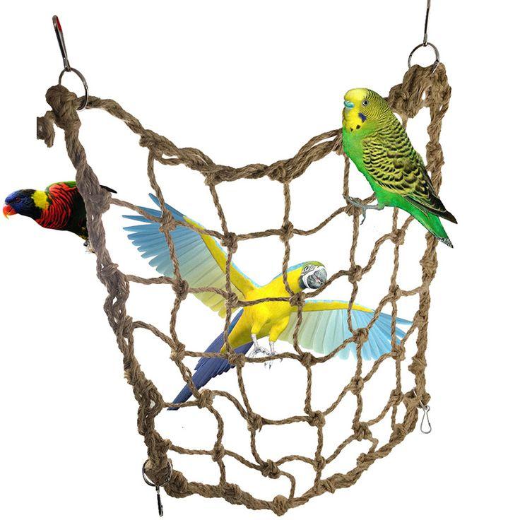 Macaw large hemp rope Climbing net Parrot Bird Cage Toy Game Hanging Rope Climbing net Parrot Training Climbing Swing Ladder // FREE Shipping //     Get it here ---> https://thepetscastle.com/macaw-large-hemp-rope-climbing-net-parrot-bird-cage-toy-game-hanging-rope-climbing-net-parrot-training-climbing-swing-ladder/    #lovecats #lovepuppies #lovekittens #furry #eyes #dogsitting
