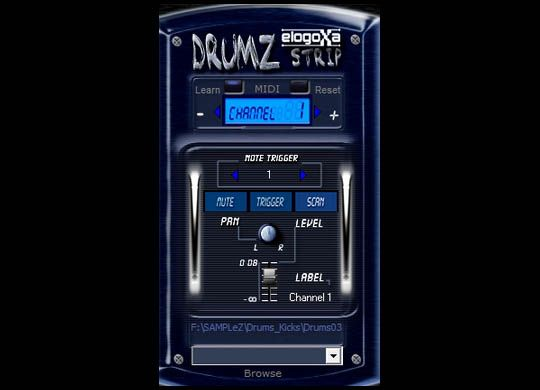 Drumz Strip 1.4 VST | Free Musician's Resource