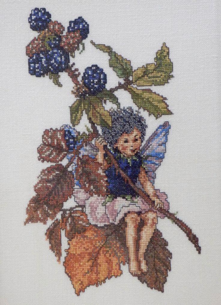 Braampje. Borduurpatroon van de Bloemenkinderen van Cicely Mary Barker. Ariadne december 1977