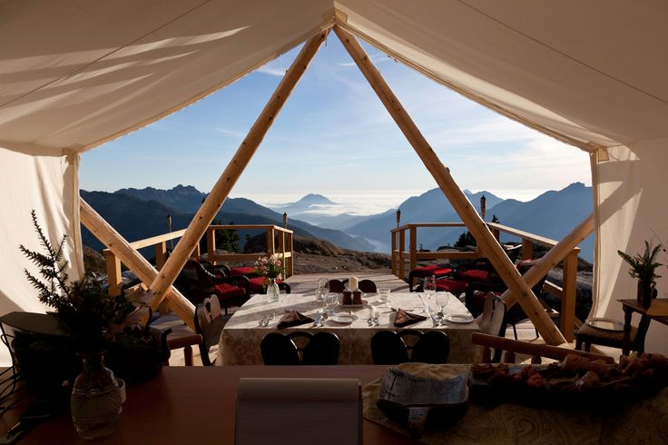 Enjoy this spectacular view from our super remote mountain top camp. #camping #glamping For more information: info@wildretreat.com www.wildretreat.com