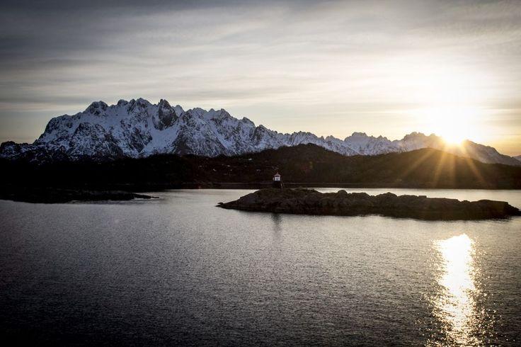 croisière Hurtigruten Harstad - Svolvær