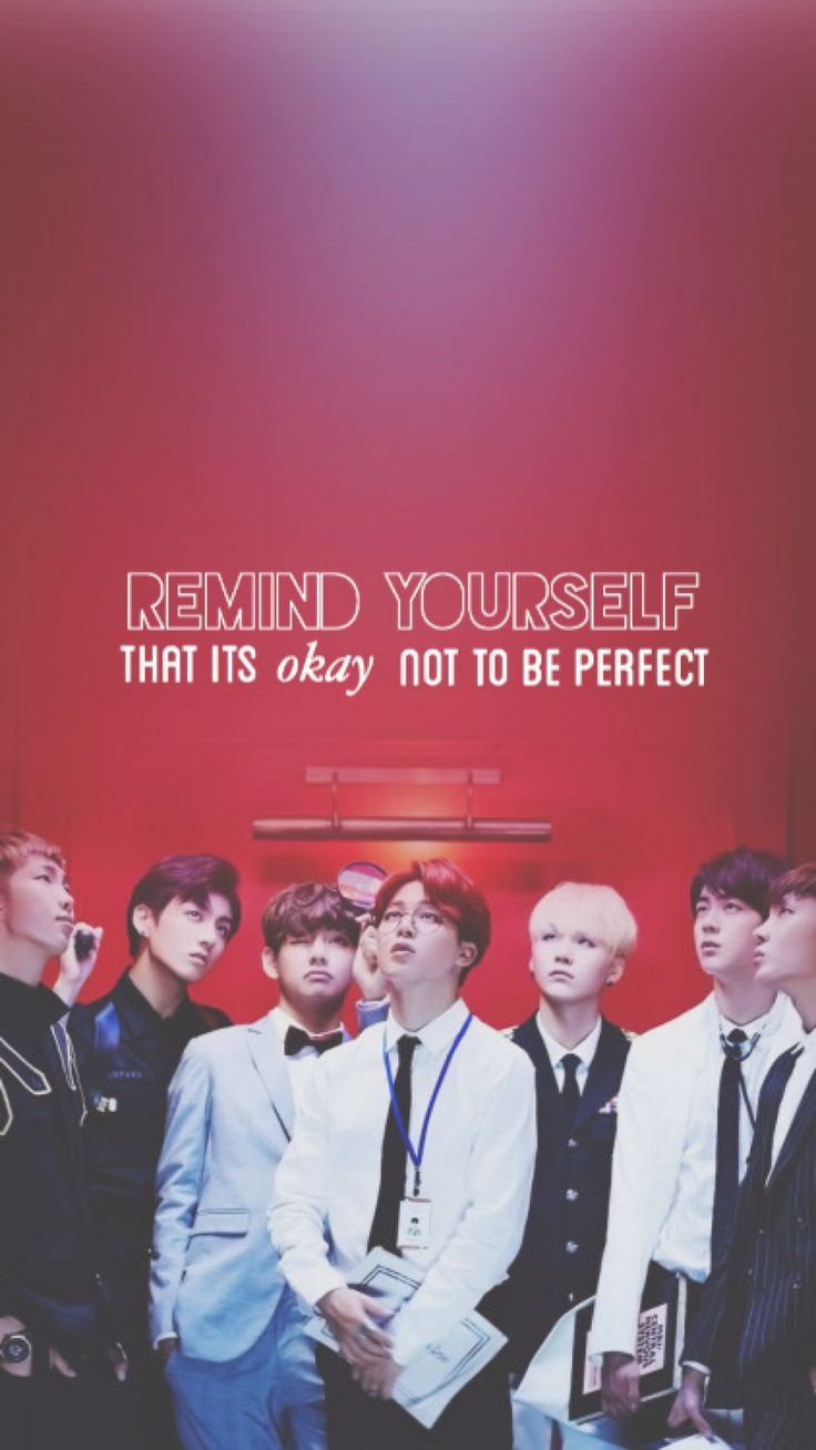 Love how this quote comes with a picture of 7 perfect human beings :')