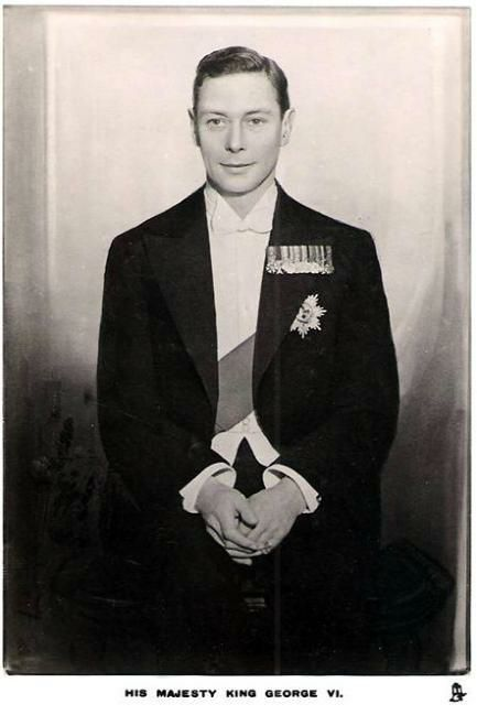 George VI My 17th cousin thrice removed