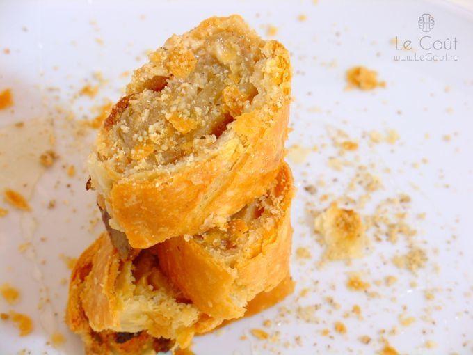 Rulouri cu crema de nuca de cocos (Coconut cream rolls)