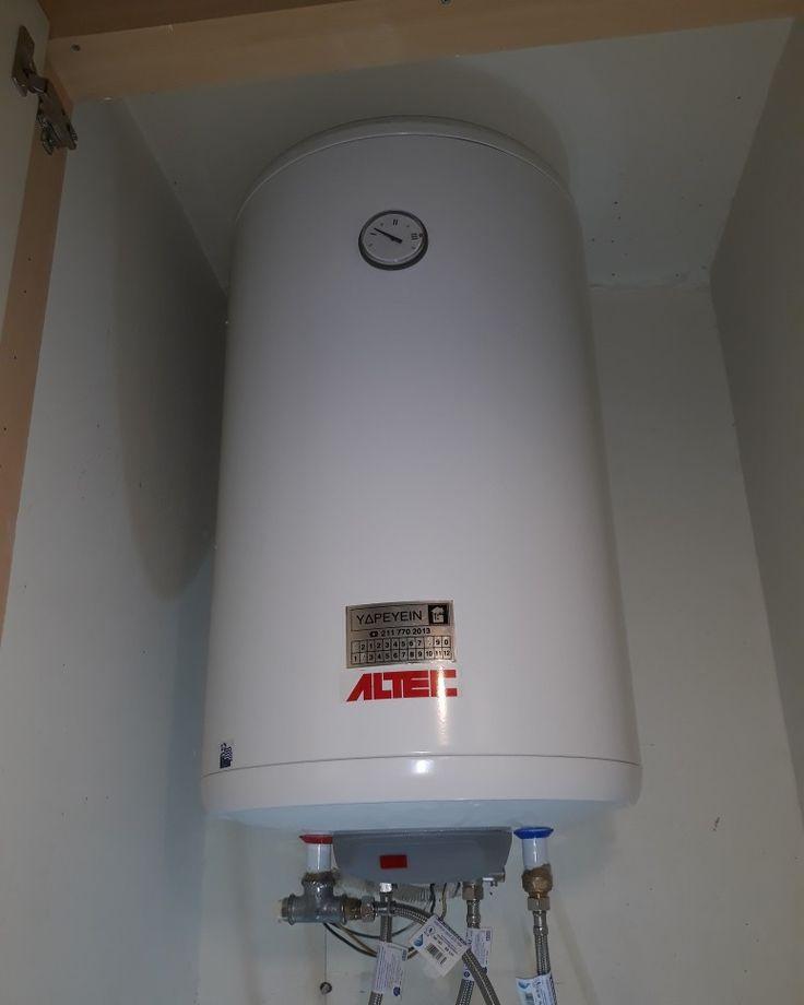 ΥΔΡΕΥΕΙΝ Υδραυλικοι Ζωγράφου εγκατάσταση Ηλεκτρικού Θερμοσιφωνα ALTEC www.υδρευειν.eu/e-shop 211 770 2013