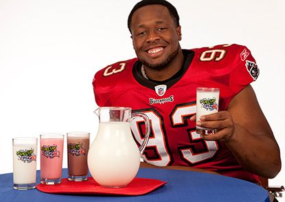 FUEL UP with NFL players!
