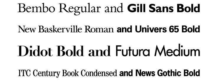 Type Combinations