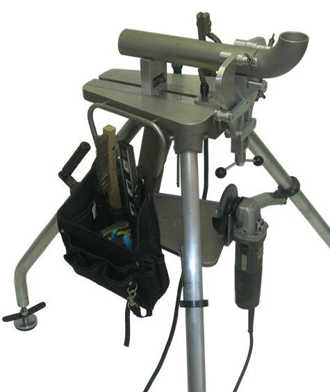 Tripod Pipe Stand - TechSouth Inc