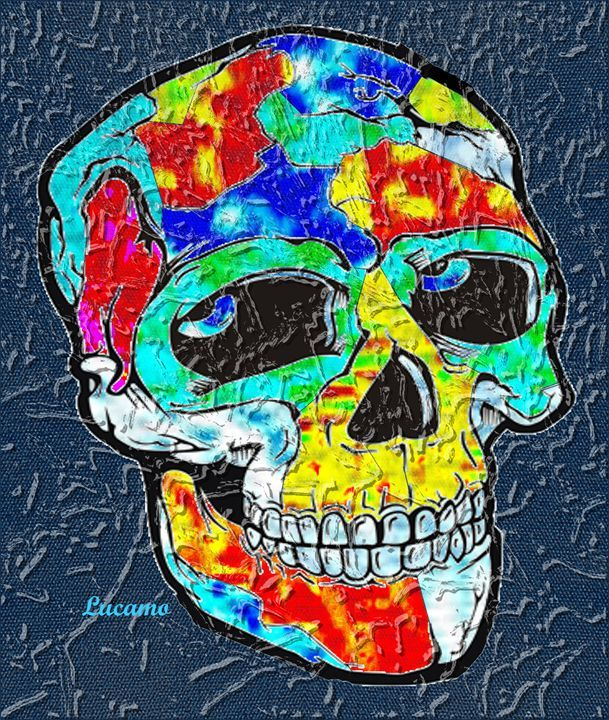 Skull - Lucamo: Creating with images