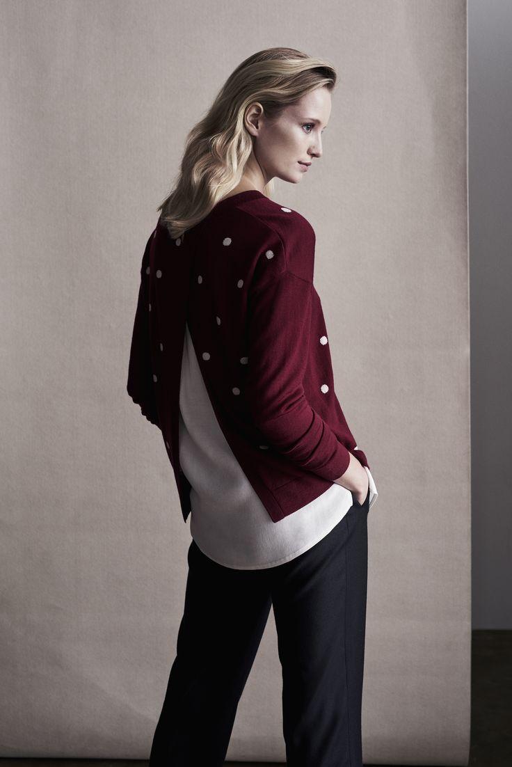 The modern spliced knit