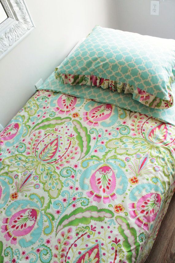 Kumari Twin Size Duvet Cover bedding set with by BabyMilanBedding