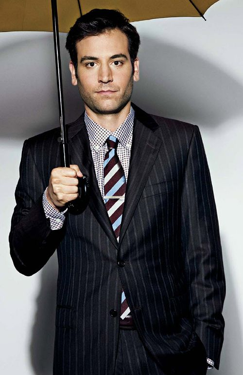 I would totally do Ted Mosby aka Josh Radnor!