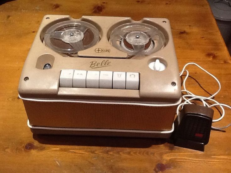 Vintage Belle Reel To Reel Tape Recorder