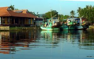 Villa Cua Can - Phu Quoc  אירוח אצל משפחה בכפר דייגים Le Bat, Cua Can