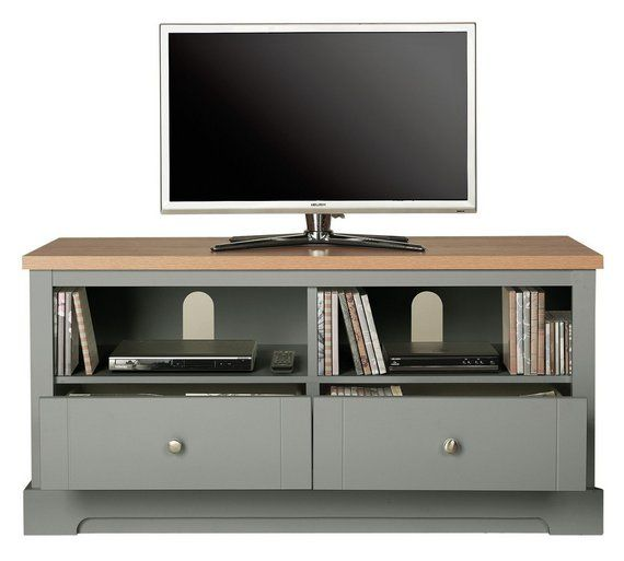 Buy Heart of House Westbury TV Unit - Sage at Argos.co.uk, visit Argos.co.uk to shop online for Entertainment units and cabinets, Living room furniture, Home and garden