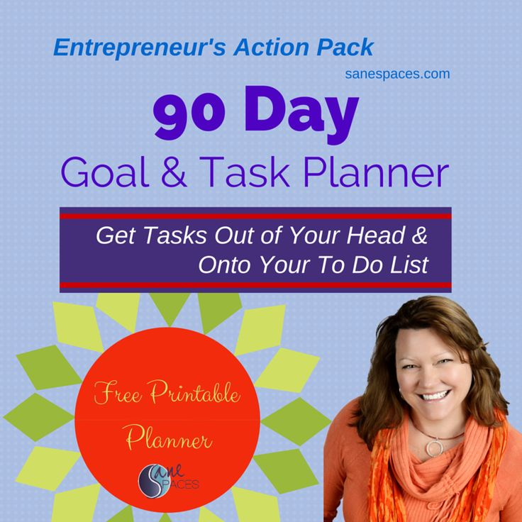Welcome Small Business Entrepreneur! Your long-term success is dependent upon your ability to articulate your plan and take action! This 90-Day Goal & T