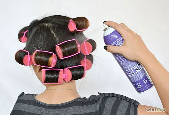How to Use Hair Rollers: 8 Steps (with Pictures) - wikiHow