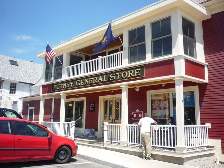 The Putney General Store in Putney, Vt., combines traditional Vermont general store items with Chinese food: http://visitingnewengland.com/blog-cheap-travel/?p=2763    we were there just the other day....