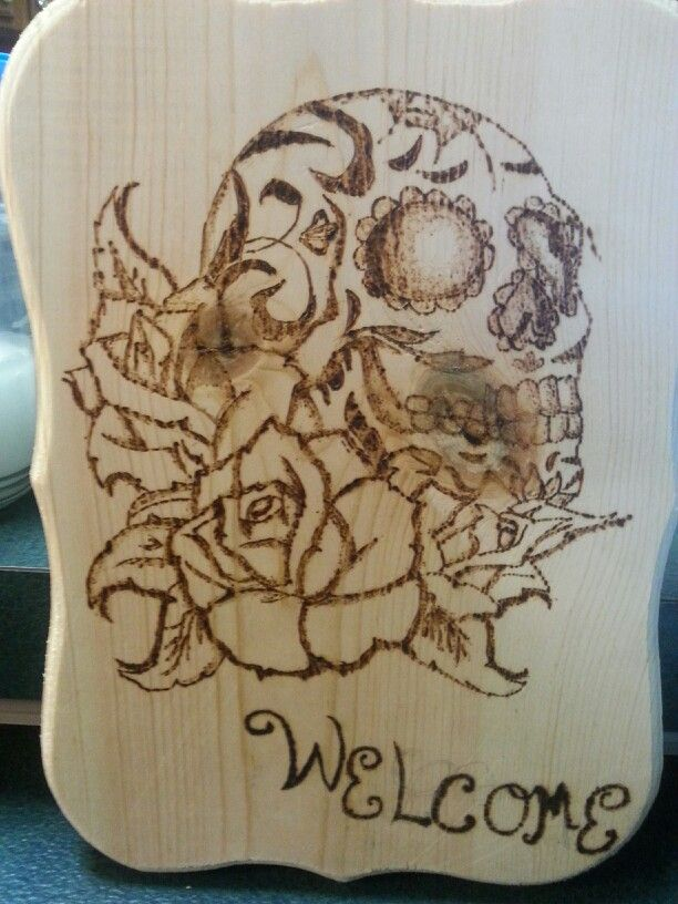 And the wood burning that started it all :)