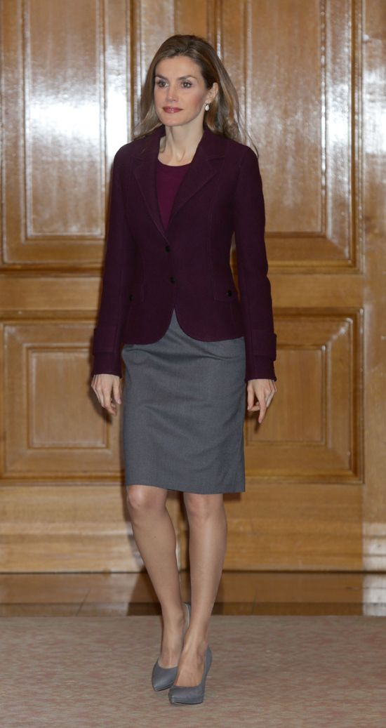 PRINCESS MONARCHY - King Felipe VI and Queen Létizia chaired the first meeting of the Royal Theatre of the board.