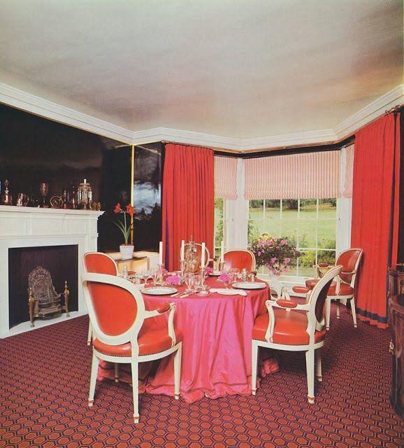 David Hicks Yorkshire Dining Room