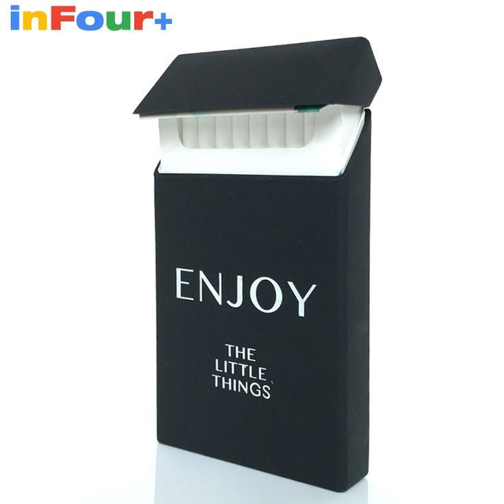 Enjoy Silicone Cigarette Case Silicone Box Lady 20 Women Cigaret Box Cigarette Box Case Pitillera De Silicona Cigarete Case #Affiliate