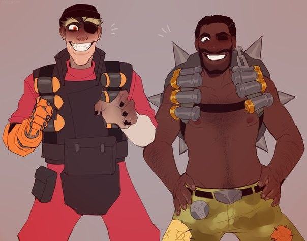 demoman anime