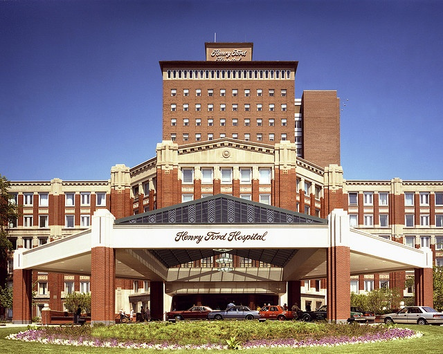 Henry Ford Hospital, Detroit, Michigan.  More world class medical facilities close by.