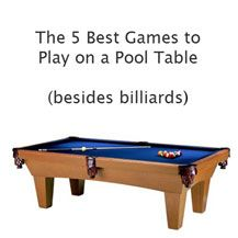 Looking for some great game ideas for your pool table? read more on our blog  http://www.oakvillehomeleisure.ca/blog/5-best-games-play-pool-tables-oakville-home-leisure-nominated