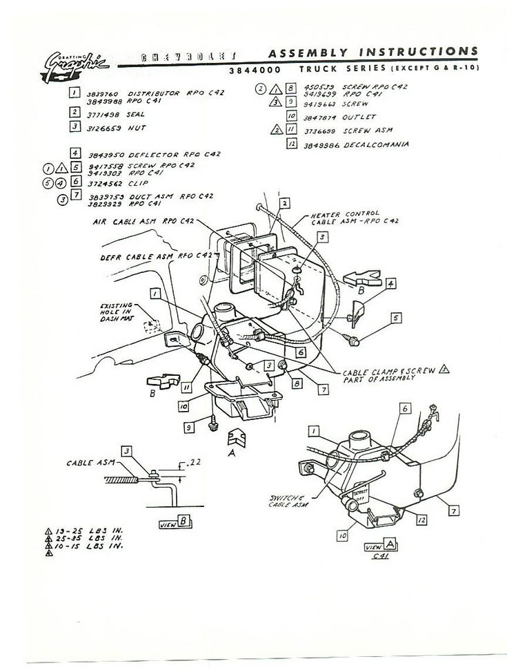 14 best '60s Chevy C10  Wiring & Electric images on