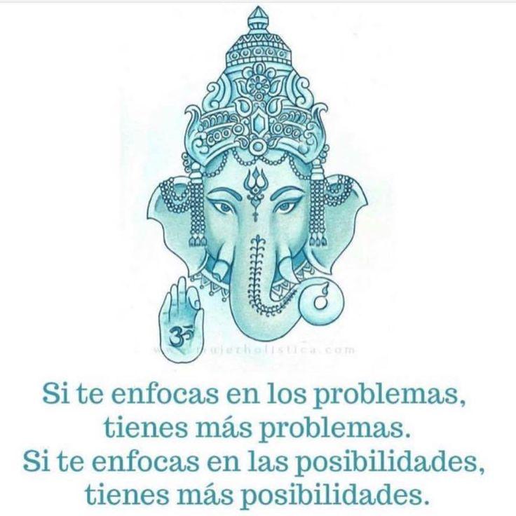 """2,484 Me gusta, 10 comentarios - Mujer Holistica (@mujerholistica) en Instagram: """"TE CONVIERTES EN LO QUE TE ENFOCAS⚡️ El elefante es un símbolo de la fuerza de la mente en el…"""""""