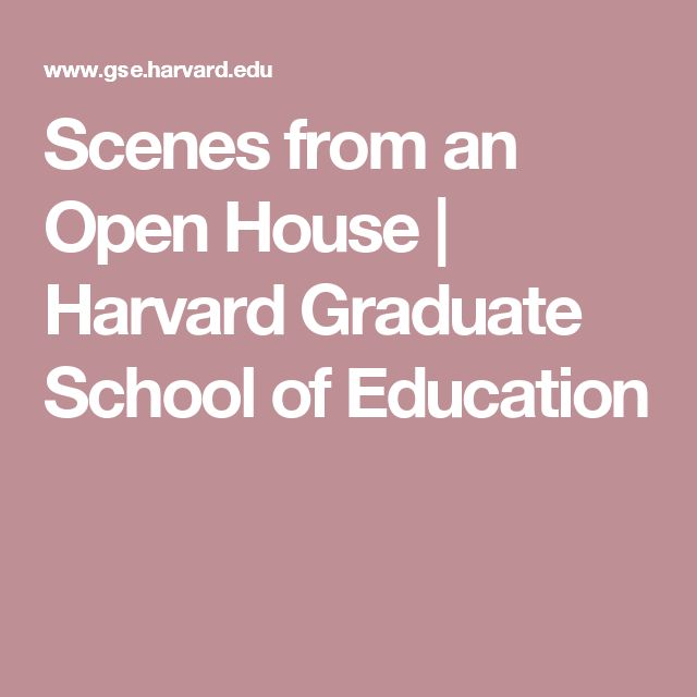 harvard graduate school of education case studies At the harvard graduate school of education (hgse), we believe studying and improving the enterprise of education are central to the health and future of society.