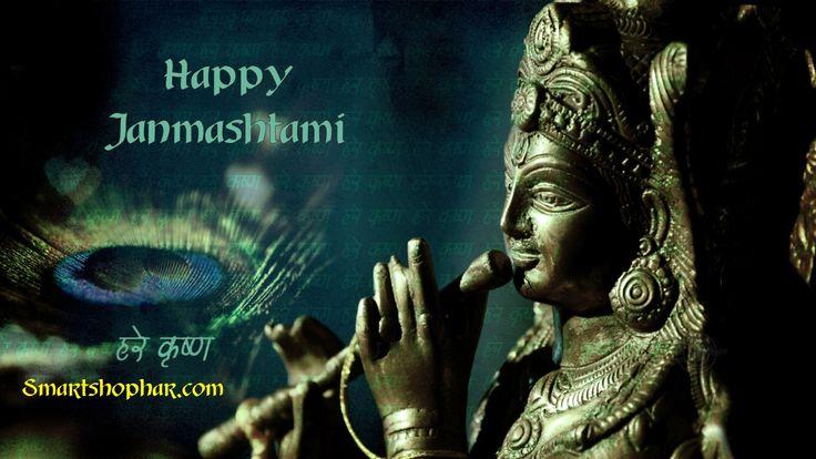Happy Janmashtami http://www.smartshophar.com/home-home-furnishings-statues-brass-statue-lord-krishna