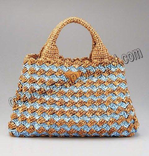 ... bag ! Crocheted purse Pinterest Beautiful, Crochet and Beautiful