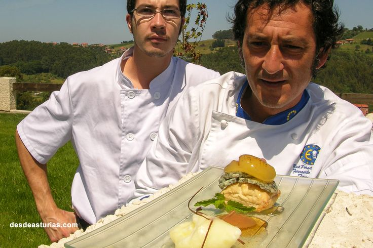 Cocina de autor Asturias. [Más info] https://www.desdeasturias.com/asturias/comer-y-salir/